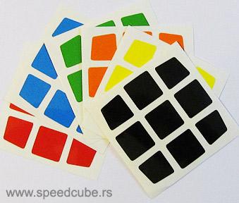 Nalepnice za V-cube 3x3 Pillow