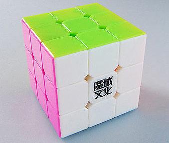 MoYu Weilong Mini 3x3 Stickerless Kocka