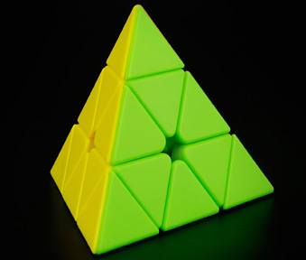 Moyu Pyraminx Stickerless