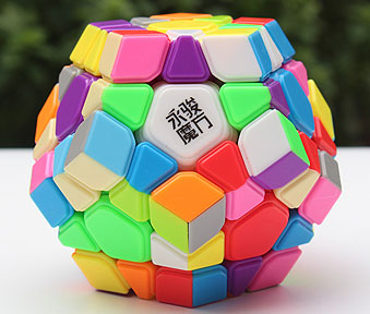 Yuhu R Megaminx Stickerless