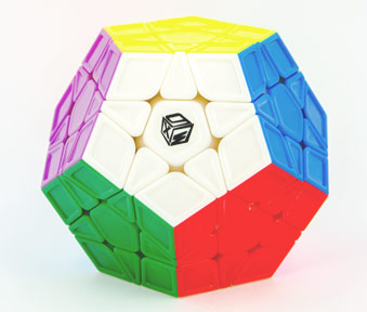 QY Galaxy Megaminx Sculpture
