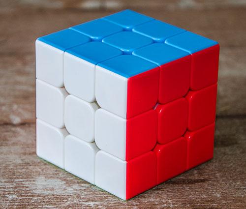 MF3S 3x3 Stickerless Kocka
