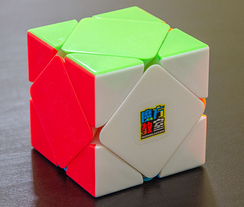 MoFang JiaoShi Skewb Stickerless