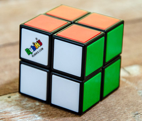Rubik's 2x2 Stickerless Kocka
