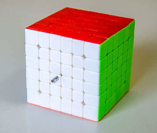 QiYi WuHua 6x6 Kocka stickerless