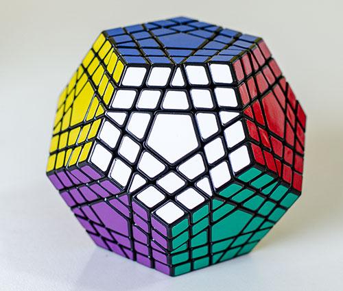 ShengShou Gigaminx kocka