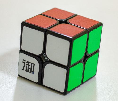 KungFu Yuehun 2X2 Kocka Crna