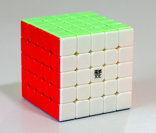 MoYu AoChuang 5x5 GTS M Stickerless Kocka