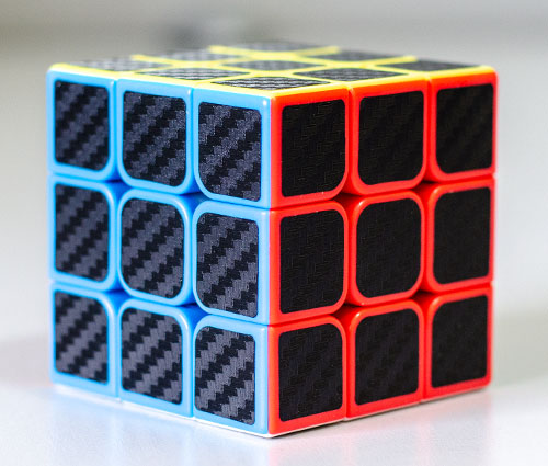 MF3S 3x3 Carbon Kocka