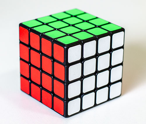 ShengShou M 4x4 kocka crna