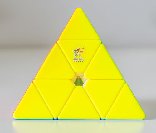 YuXin HuangLong M Pyraminx Stickerless