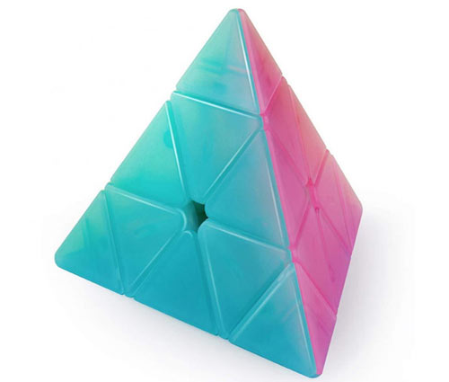 QiYi QiMing Pyraminx Jelly