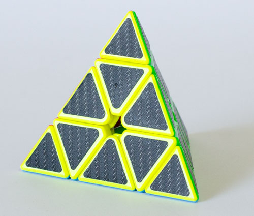 Z Pyraminx Carbon Stickers