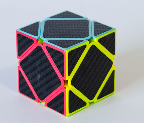 Z Skewb Carbon Stickers