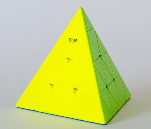 QY MFG Master Pyraminx 4x4 Stickerless