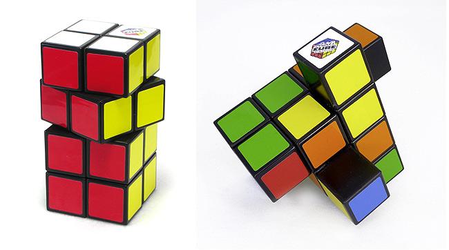rubikova tower kocka 2x2x4