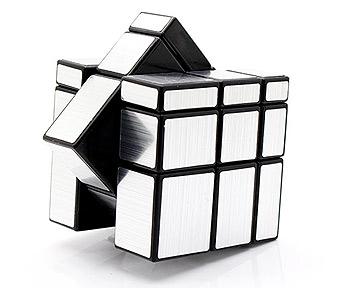 ShengShou Mirror Cube - Srebrna