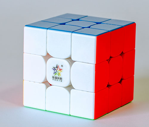YuXin Little Magic 3x3 Stickerless Kocka