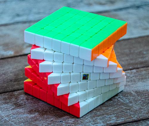 MF7S 7x7 Stickerless kocka