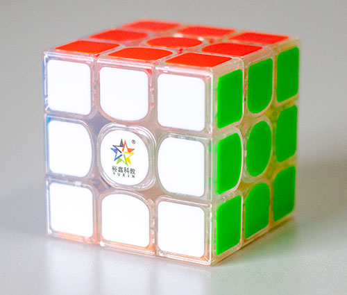 YX Kylin 3x3 V2 M 3x3 Kocka Transparent