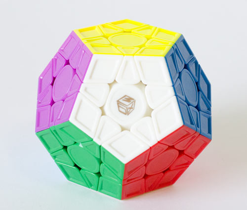 QiYi Galaxy Megaminx V2 LM Sculpture Stickerless