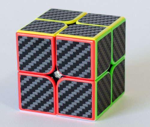 Z 2x2 Carbon Stickers
