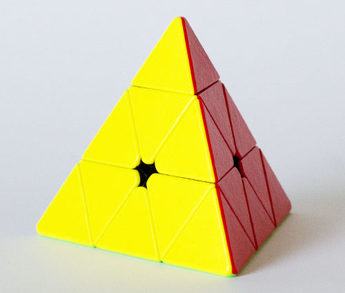 SS Gem Pyraminx Stickerless