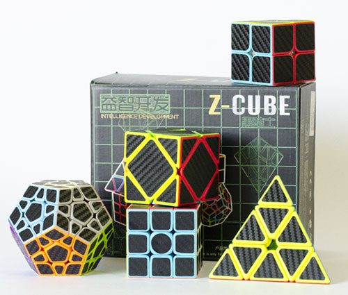Z Cubes Carbon Set