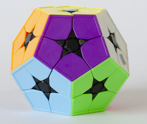 MoYu Meilong Megaminx 2x2 Stickerless