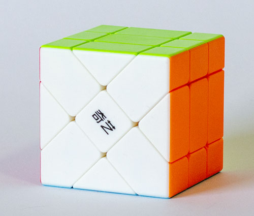 QY Fisher 3x3 Stickerless