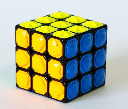 YongJun Tactikity Tiled Crna (YJ Blind 3x3)