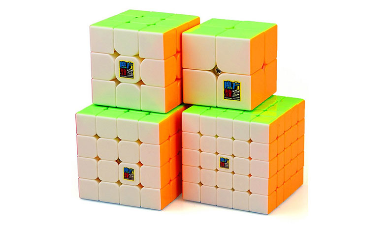 4 kocke za slaganje za početnike